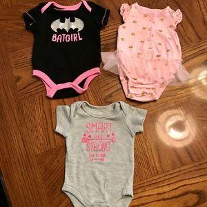 Other - NWOT Baby Girl Bodysuits